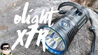 Olight X7R Marauder 12,000 Lumens of Daylight!!