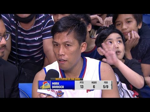 Best Player: Mark Barroca | PBA Governor's Cup 2018