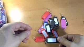 Бирка для ключей от компании ИП Сафронов Н. В. - видео