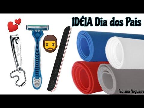 Kit Higiene feito com EVA