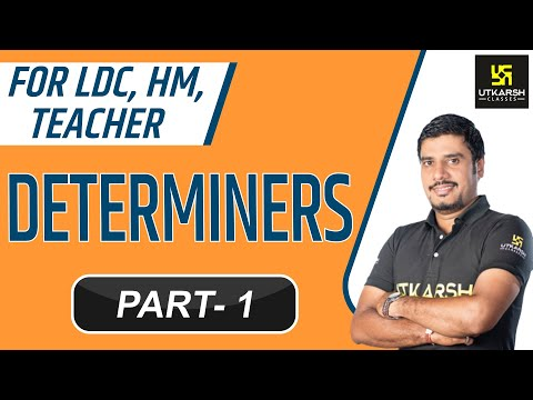 English || Determiners || Part-1 || By Lal Singh Kaviya