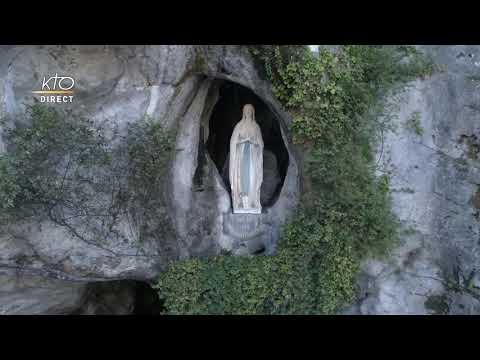 Chapelet à Lourdes du 22 juin 2020