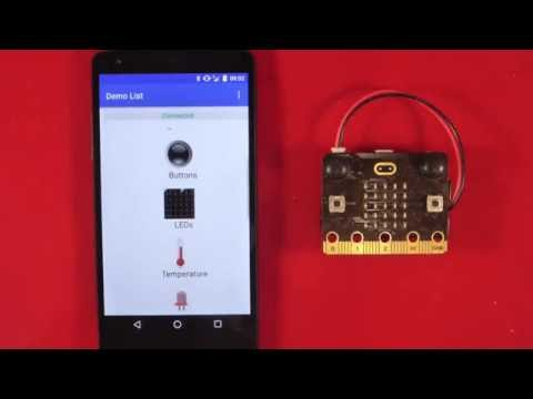 Bluetooth LED Service - Microsoft MakeCode