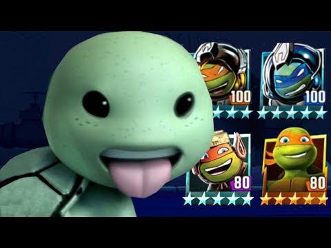 Ninja Turtles Legends PVP HD Episode - 525 #TMNT