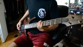 Parkway Drive - The River - Bass Cover HD