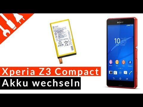 SONY XPERIA Z3 COMPACT Akku wechseln | EINFACH ERKLÄRT