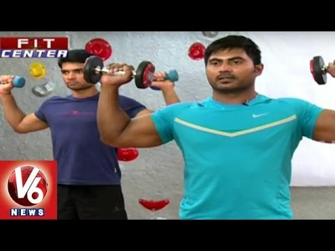Fit-Center-Trainer-Venkat-Fitness-Tips-Six-Pack-Healthy-exercise-V6-News-05-03-2016