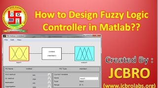How to Design Fuzzy Controller (motor control) in Matlab ?