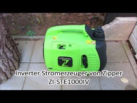Zipper Stromerzeuger ZI-STE1000IV - Strom für Krisen und Notfälle