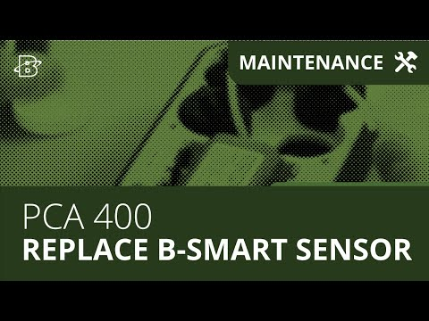 PCA-400 | How to Replace the B-Smart Sensor
