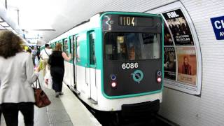 preview picture of video '[Paris] MP59 Métro 11 - Châtelet'