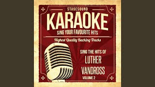 Dance With My Father (Originally Performed By Luther Vandross) (Karaoke Version)