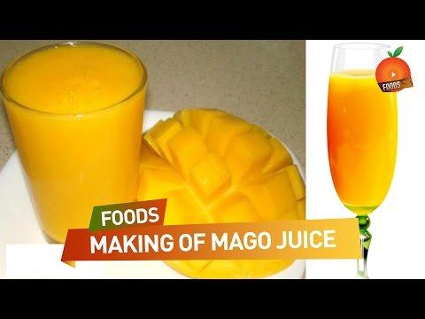Video How to Make Fresh Mango Juice - తాజా మామిడి రసం ఎలా తయారు చెయ్యాలి ? | South Indian Recipes