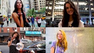 Victoria's Secret 2018 Callback Casting (in New York City) Models thank VS Chinese fans (4K)