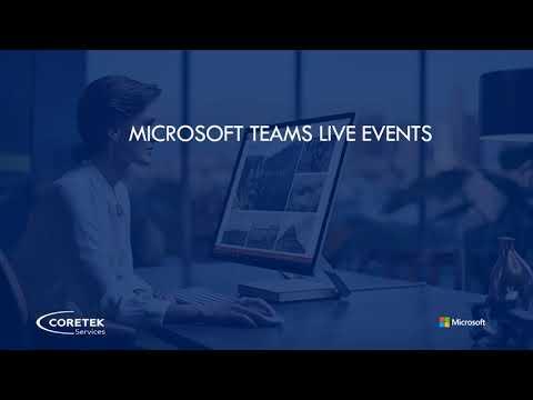 Live Events: Microsoft Teams Feature Spotlight