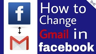 [Hindi] how to change Facebook gmail in mobile