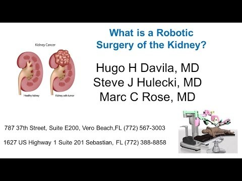 Robotic Surgery of the Kidney