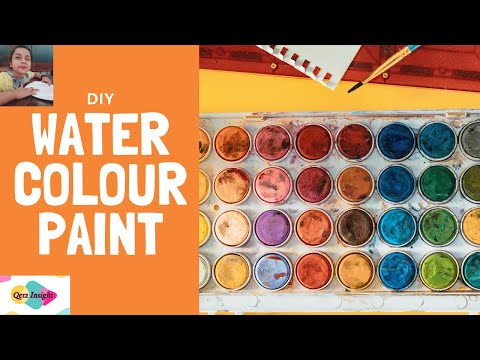 Qetz Insight  | Tips to make water color paint at Home | DIY  | 1210 |  | saravana m | Bharat Business