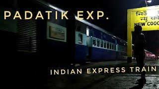 Padatik Express   Indian Express Train   New Cooch Behar Station✔