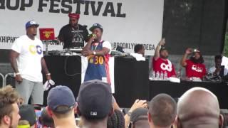 The Lox at Brooklyn Hip Hop Festival 2017