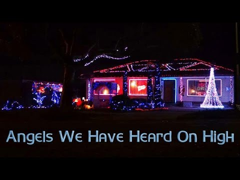 ryanschristmaslights - Angels We Have Heard On High