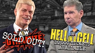 AEW SELLS OUT AGAIN - WWE STILL struggling To Sell Tickets! The Rock Retires!? - WWE News & Spoilers