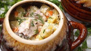Блюдо в ГОРШОЧКЕ без возни! Самый Ленивый рецепт, ПРОЩЕ НЕ БЫВАЕТ!