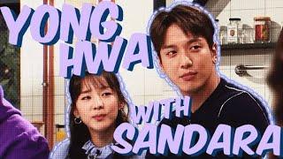 CNBLUE Yonghwa with Sandara