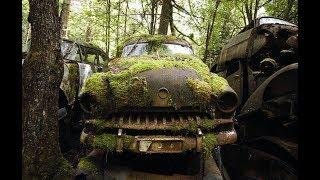 Свалка машин в Германии. Железное кладбище.