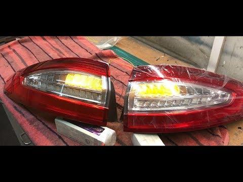Ford Mondeo dynamischer Blinker - dynamic Blinker Taillights | 2015 Limousine | Tobi3c