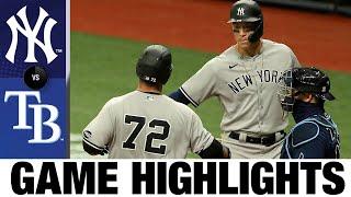 Three Yankees homer in 8-4 win vs. Rays | Yankees-Rays Game 1 Highlights 8/8/20
