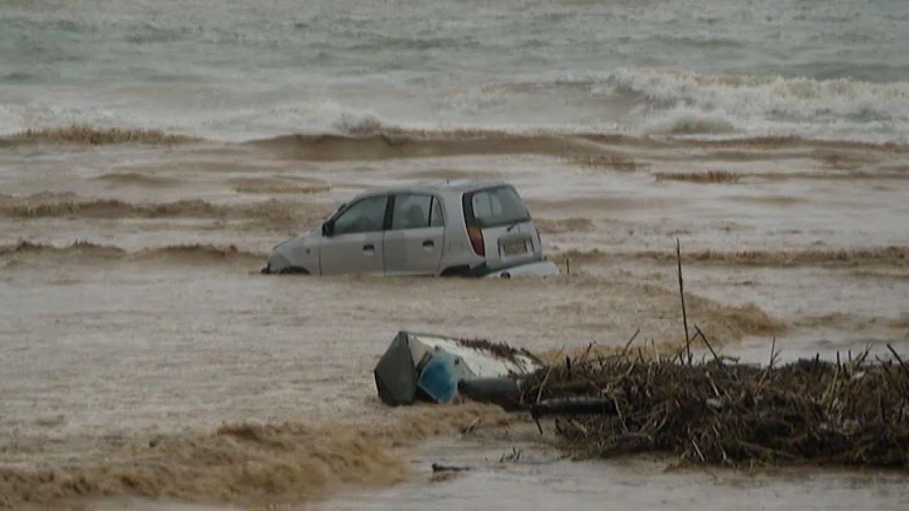 Μεγάλες οι ζημιές που προκλήθηκαν στην Κρήτη από την κακοκαιρία