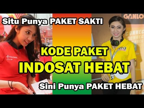 Video Cara Daftar PAKET INDOSAT HEBAT, Dapet INTERNET+Nelpon+SMS nih !!