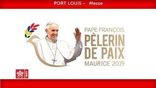 Pape François-Port Louis-Messe 2019-09-09