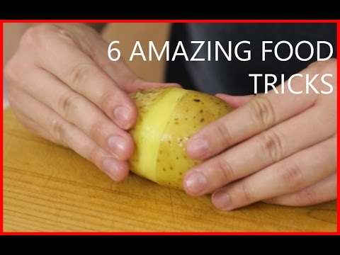 Crazy and useful tricks to use in the kitchen