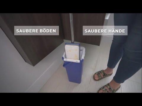 Livington Touchless Mop | Saubere Böden – saubere Hände | MediaShop.TV