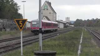 preview picture of video 'Neumarkt-St. Veit Bahnhof am 12.10.2013'