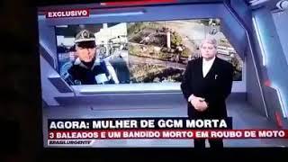 MULHER DE POLICIAL MORRE DURANTE ROUBO NA RODOVIA AYRTON SENNA