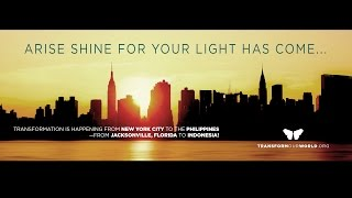 Arise, Shine for Your Light Has Come...