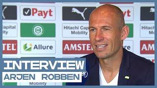 """Gedreven Robben: """"Ik doe dit heel bewust voor de club FC Groningen"""""""