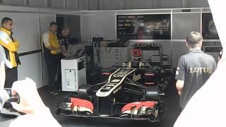 Смотреть онлайн Гимн России двигателем Формулы-1