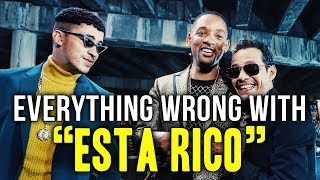 "Everything Wrong With Marc Anthony, Will Smith, Bad Bunny - ""Está Rico"""
