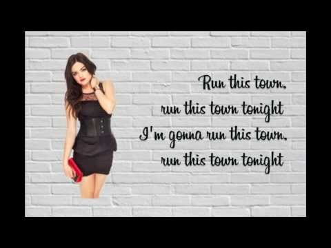 Lucy Hale~ Run This Town Lyrics (dirty Version)