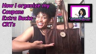 MY COUPON BINDER- HOW I ORGANIZE MY COUPONS- COUPONING CRYSTLE 🛒🏃🏽‍♀️