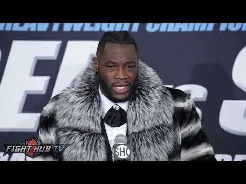 "Deontay Wilder says he will make Anthony Joshua QUIT! ""You can run, but I will catch you!"""