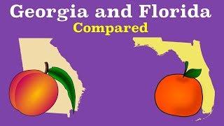 Florida and Georgia Compared