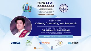Day 4: 2020 CEAP C.O.N.G.R.E.S.S   Session 6: Research