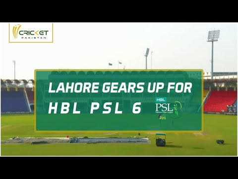 Gaddafi Stadium: Preparations in full swing for HBL PSL 6