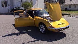 1972 OPEL GT YELLOW BLAZE FOR SALE