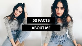 50 RANDOM FACTS ABOUT ME TAG